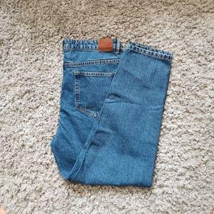 ZARA Trafaluc blue Mom jeans